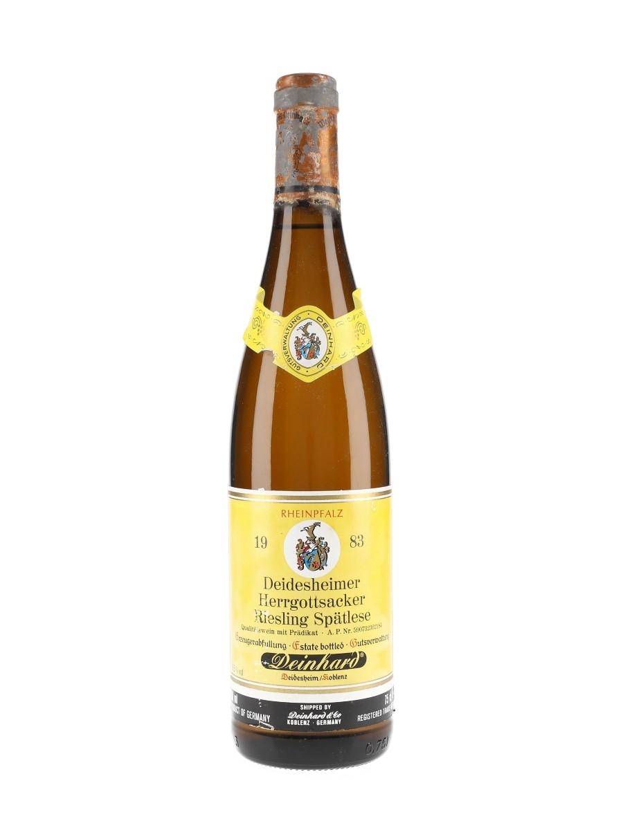 Deidesheimer Herrgottsacker Riesling Spatlese 1983 Deinhard & Co. 75cl / 9.5%