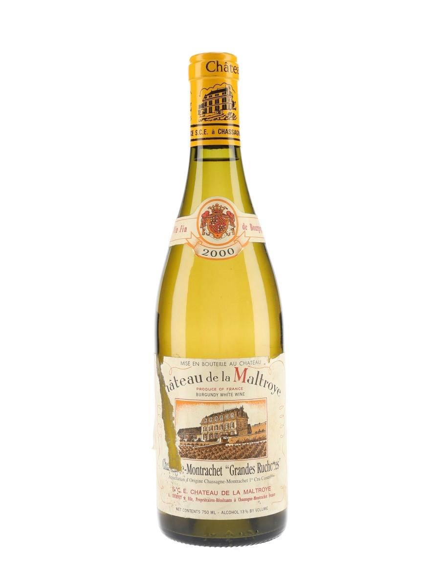 Chateau De La Maltroye Premier Cru 2000 Chassagne-Montrachet Grandes Ruchottes 75cl / 13%