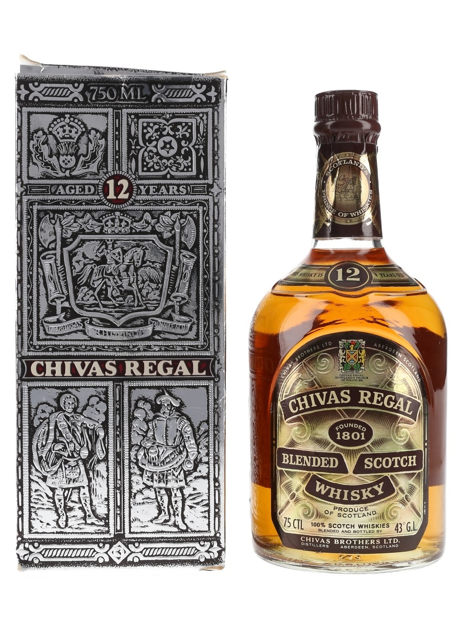 Chivas Regal 12 Year Old Bottled 1970s-1980s - Singapore, Malaysia, Brunei 75cl / 43%
