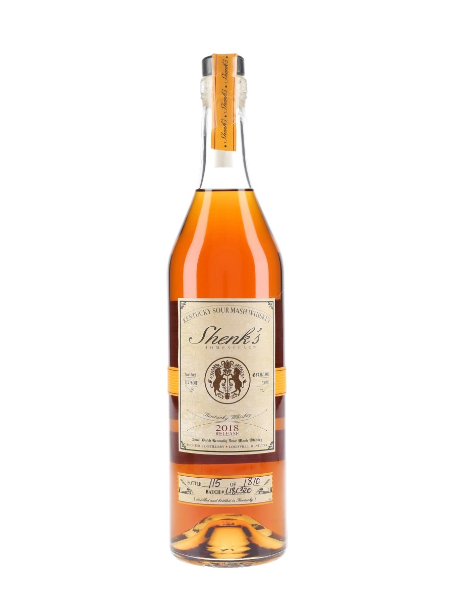 Michter's Shenk's Homestead Sour Mash Whiskey 2018 Release - Batch L18C320 70cl / 45.6%