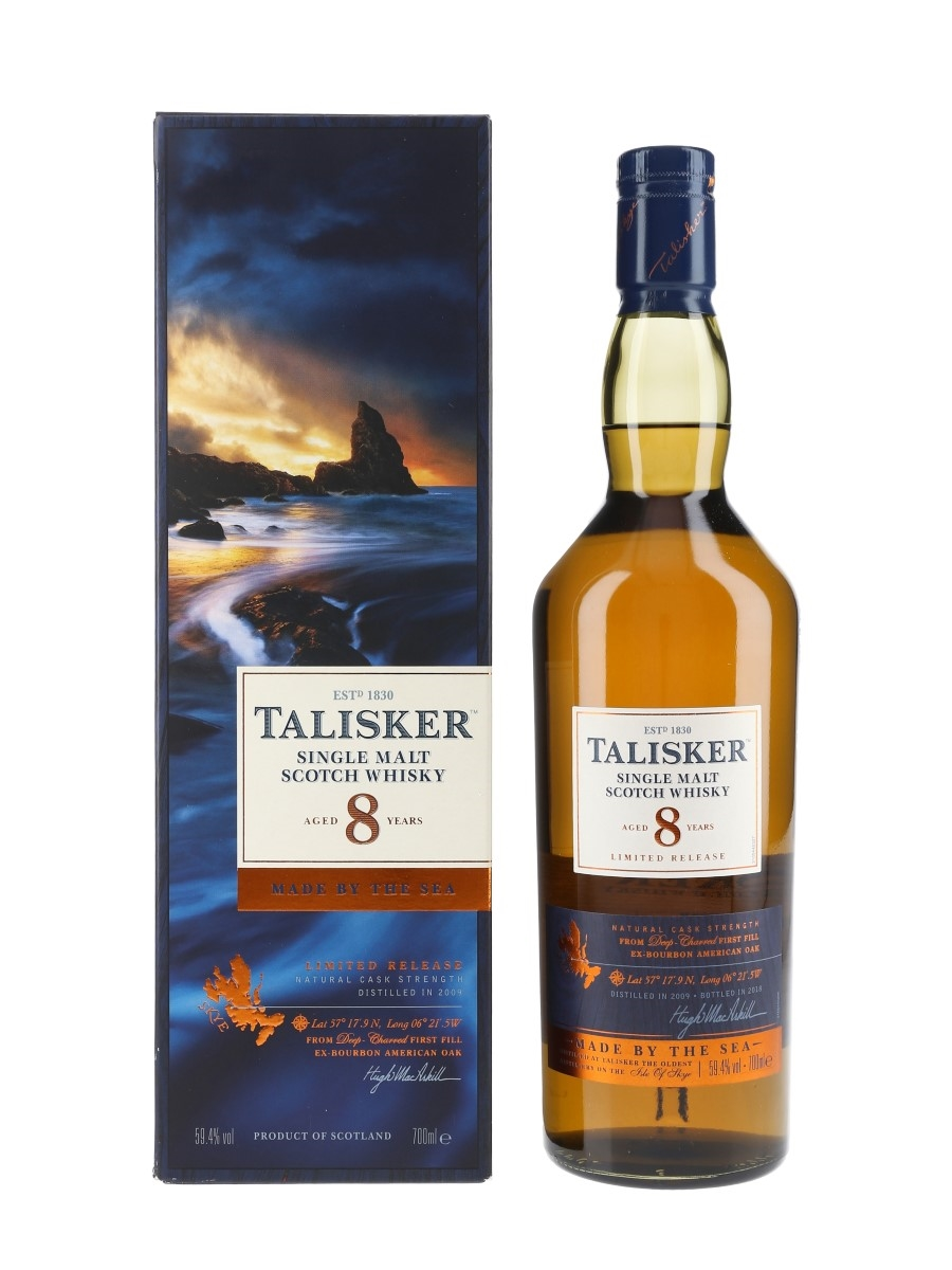 Talisker 2009 8 Year Old 19th Release Special Releases 2018 70cl / 59.4%