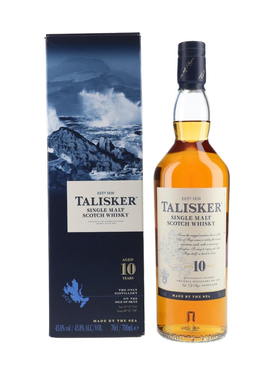 Talisker 10 Year Old  70cl / 45.8%