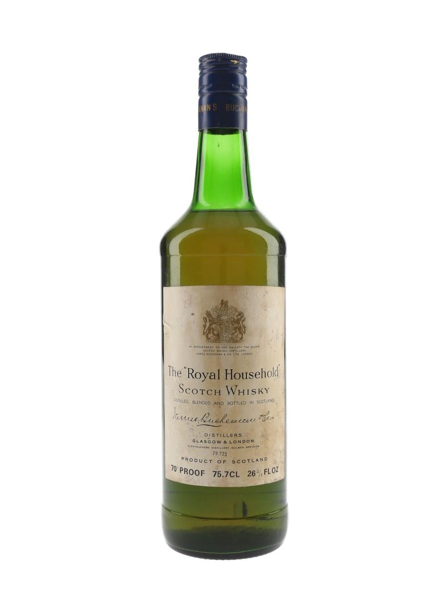 The Royal Household Bottled 1970s - James Buchanan 75.7cl / 40%