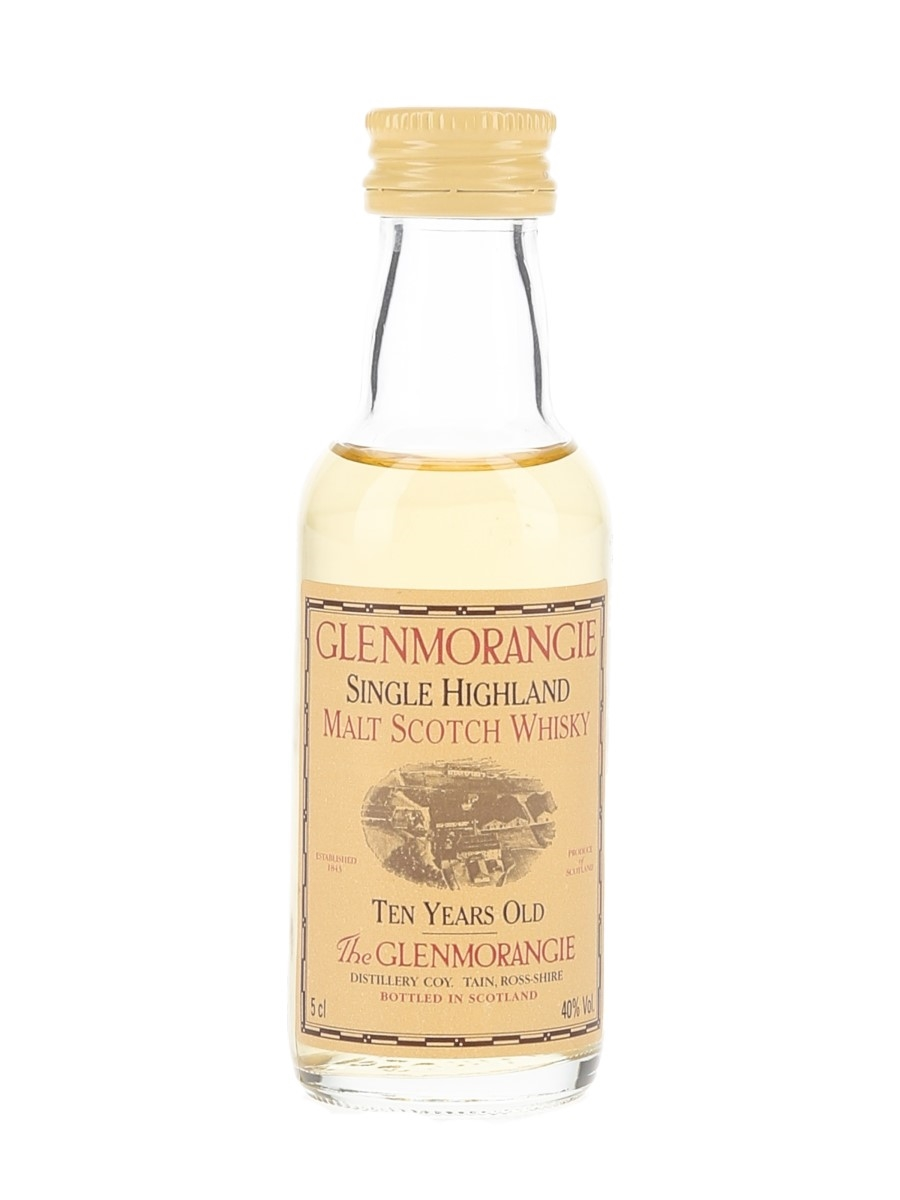 Glenmorangie 10 Year Old Bottled 1990s 5cl / 40%