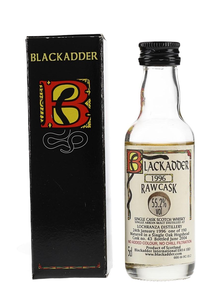 Lochranza (Arran) 1996 Raw Cask 43 Bottled 2004 - Blackadder International 5cl / 55.2%