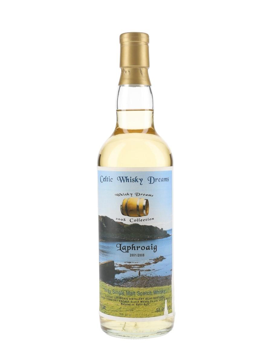 Laphroaig 2001-2008 Celtic Whisky Dreams 70cl / 58.9%