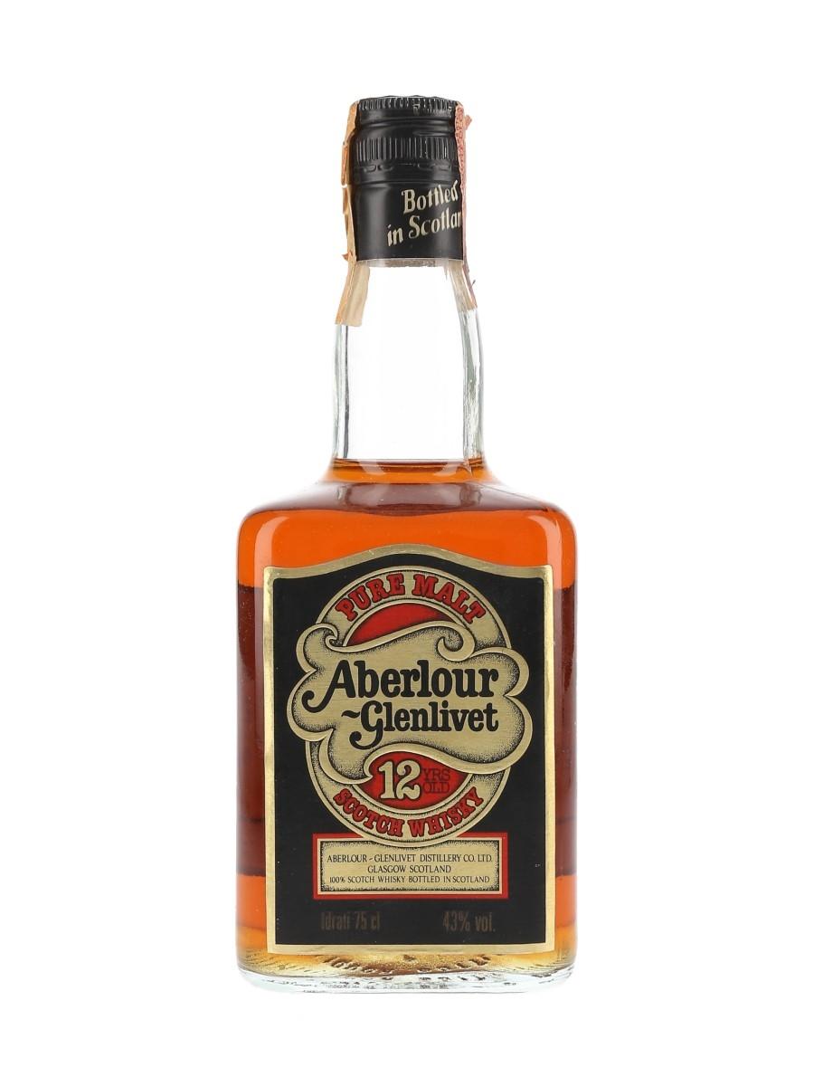 Aberlour Glenlivet 12 Year Old Bottled 1980s 75cl / 43%