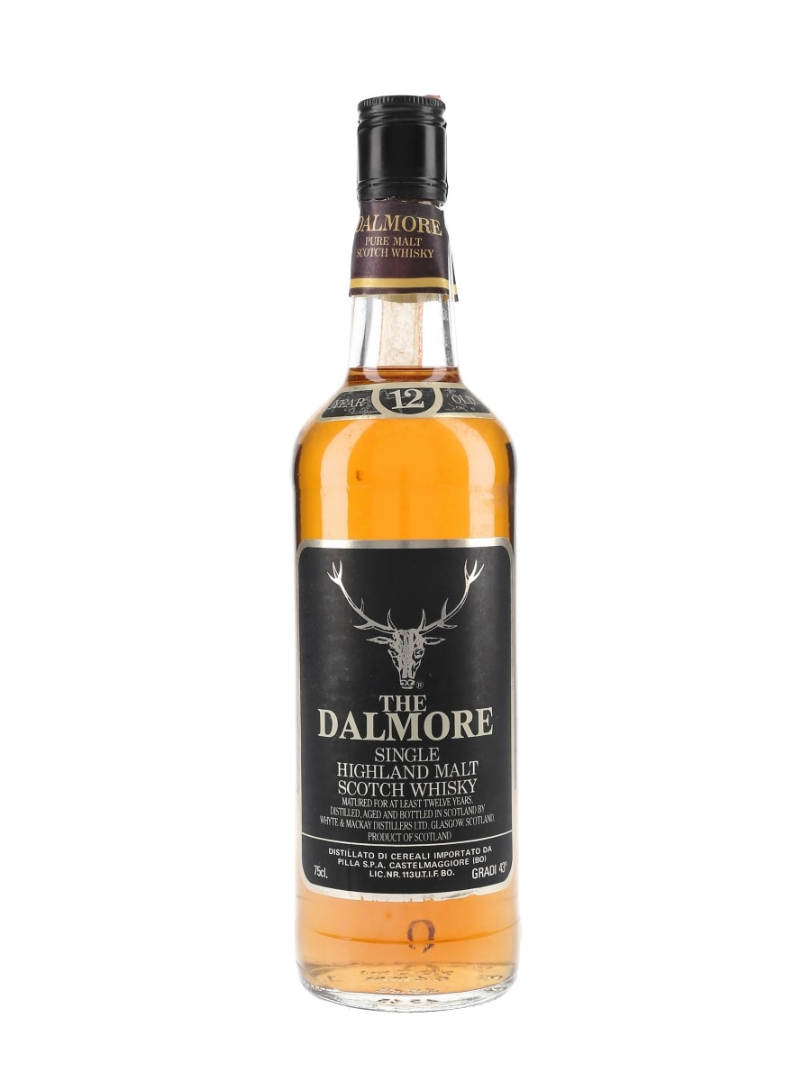 Dalmore 12 Year Old Bottled 1980s - Pilla 75cl / 43%