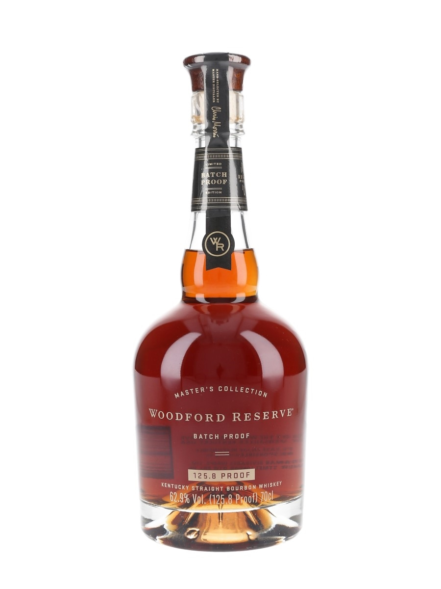 Woodford Reserve Master's Collection Batch Proof 2018 Release  70cl / 62.9%