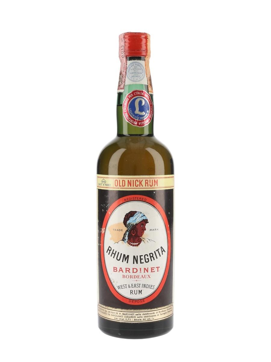 Bardinet Negrita Rhum Bottled 1960s - Luxardo 75cl / 44%