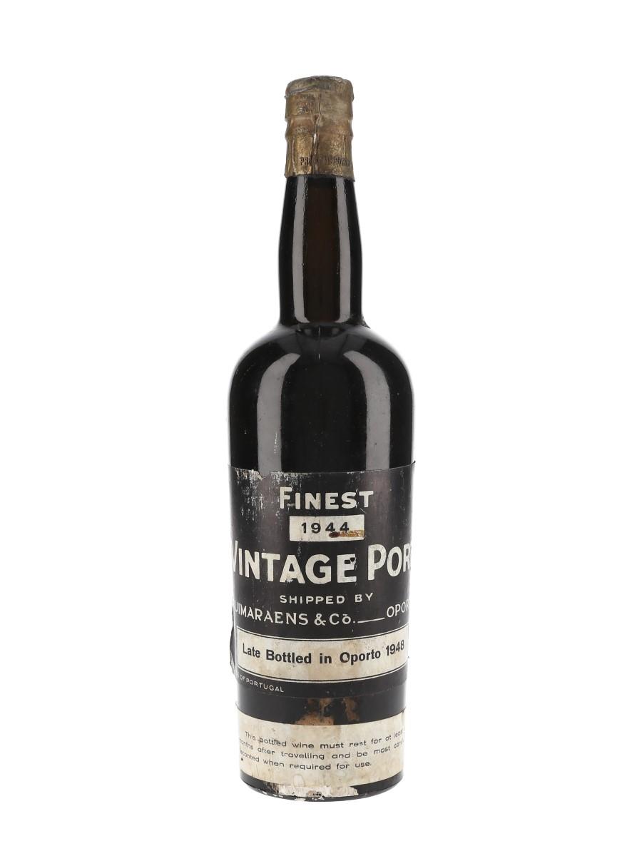 Fonseca's Finest 1944 Vintage Port Late Bottled in 1948 75cl