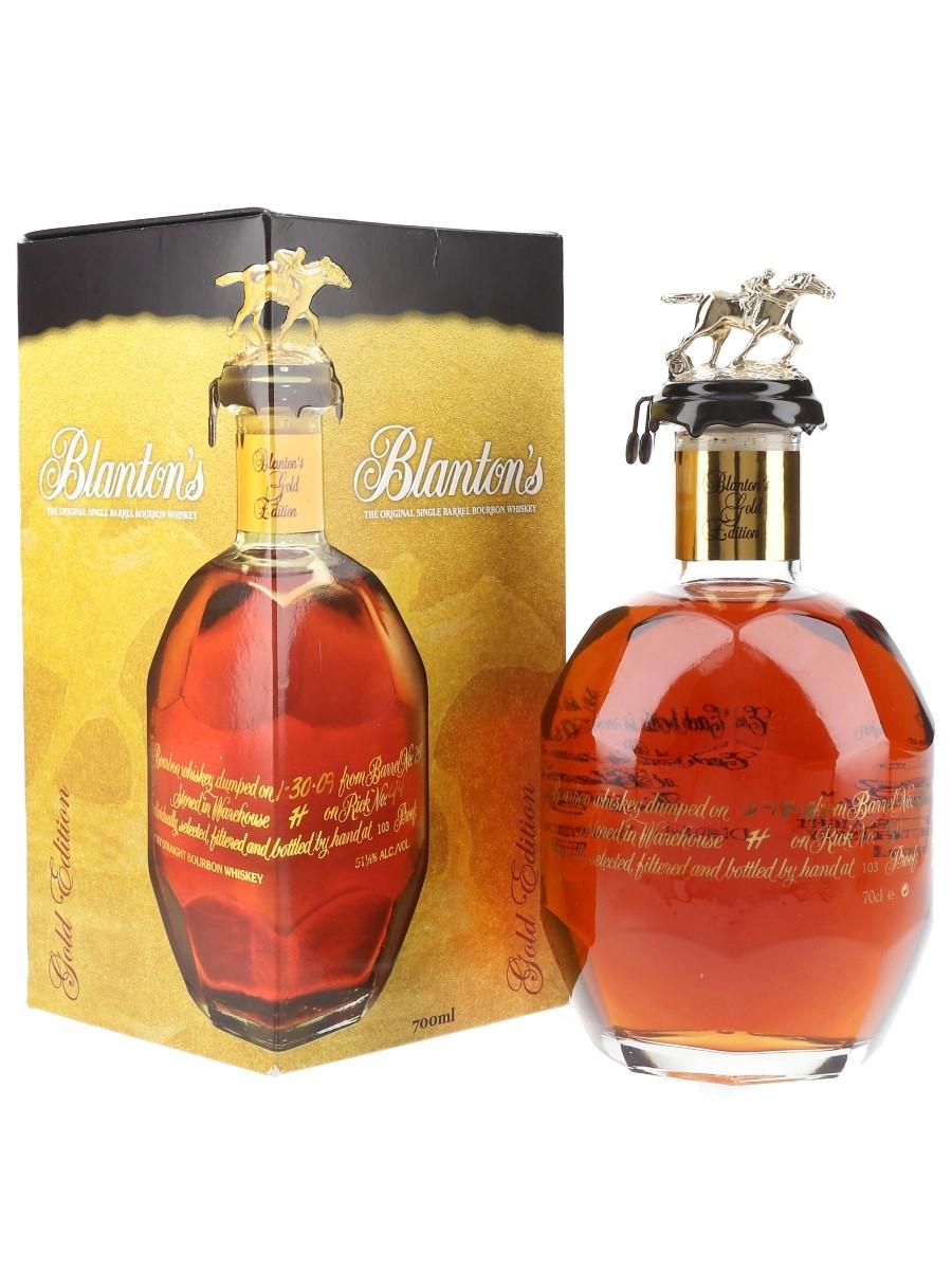 Blanton's Gold Edition Barrel No. 505 Bottled 2018 70cl / 51.5%
