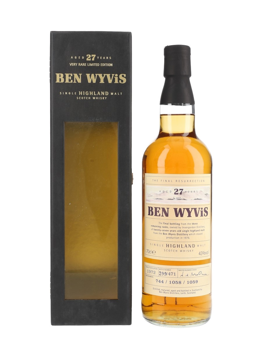 Ben Wyvis 1972 27 Year Old The Final Resurrection 70cl / 43%