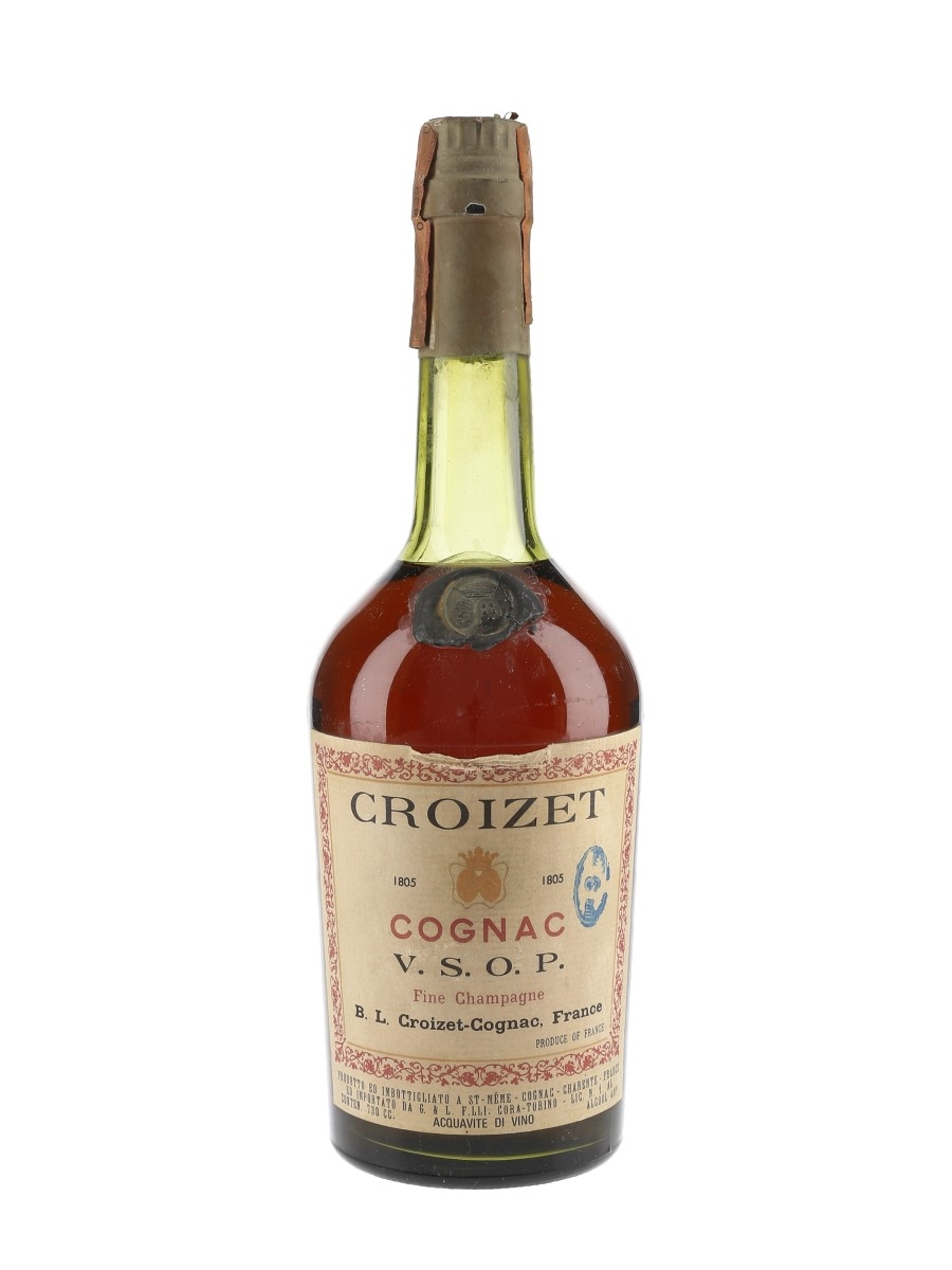 Croizet VSOP Bottled 1960s-1970s - Cora 73cl / 40%