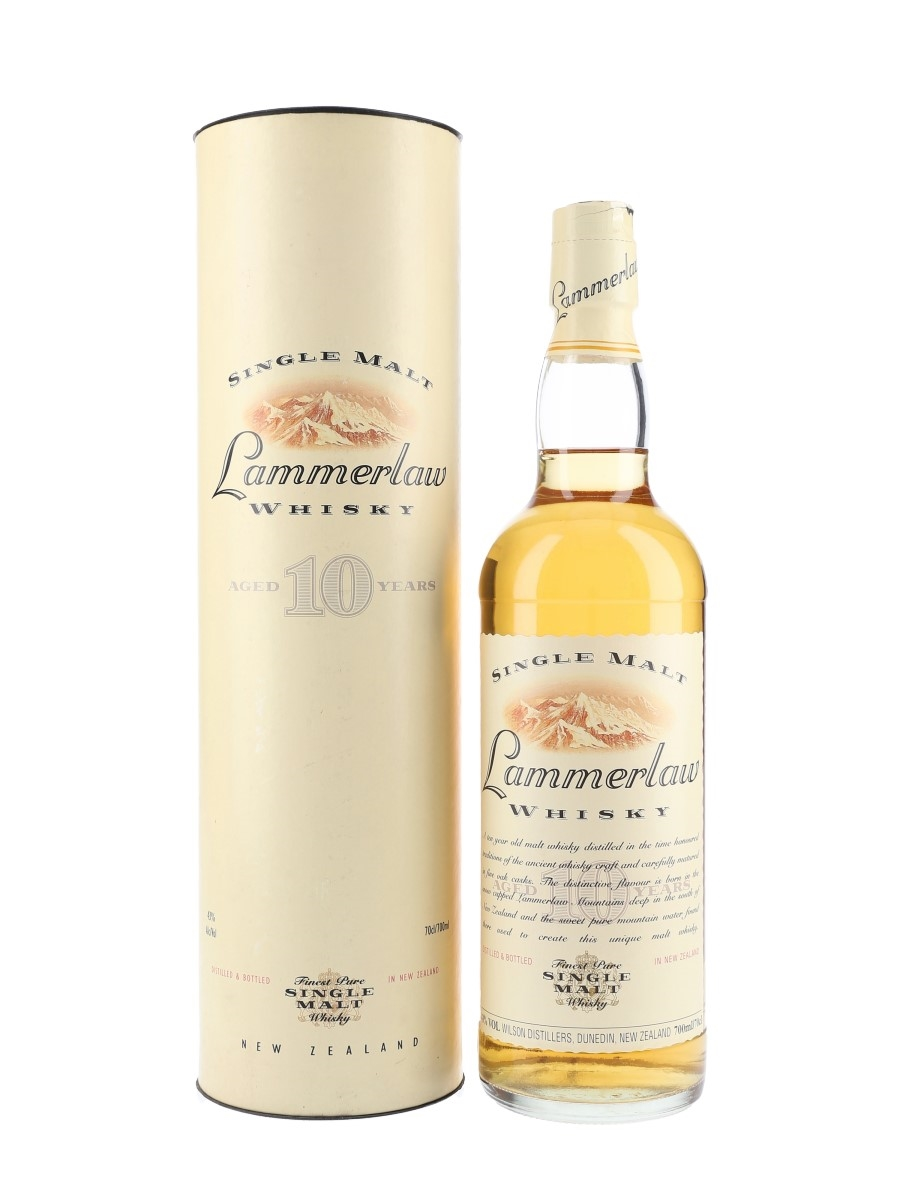 Lammerlaw 10 Year Old New Zealand 70cl / 43%