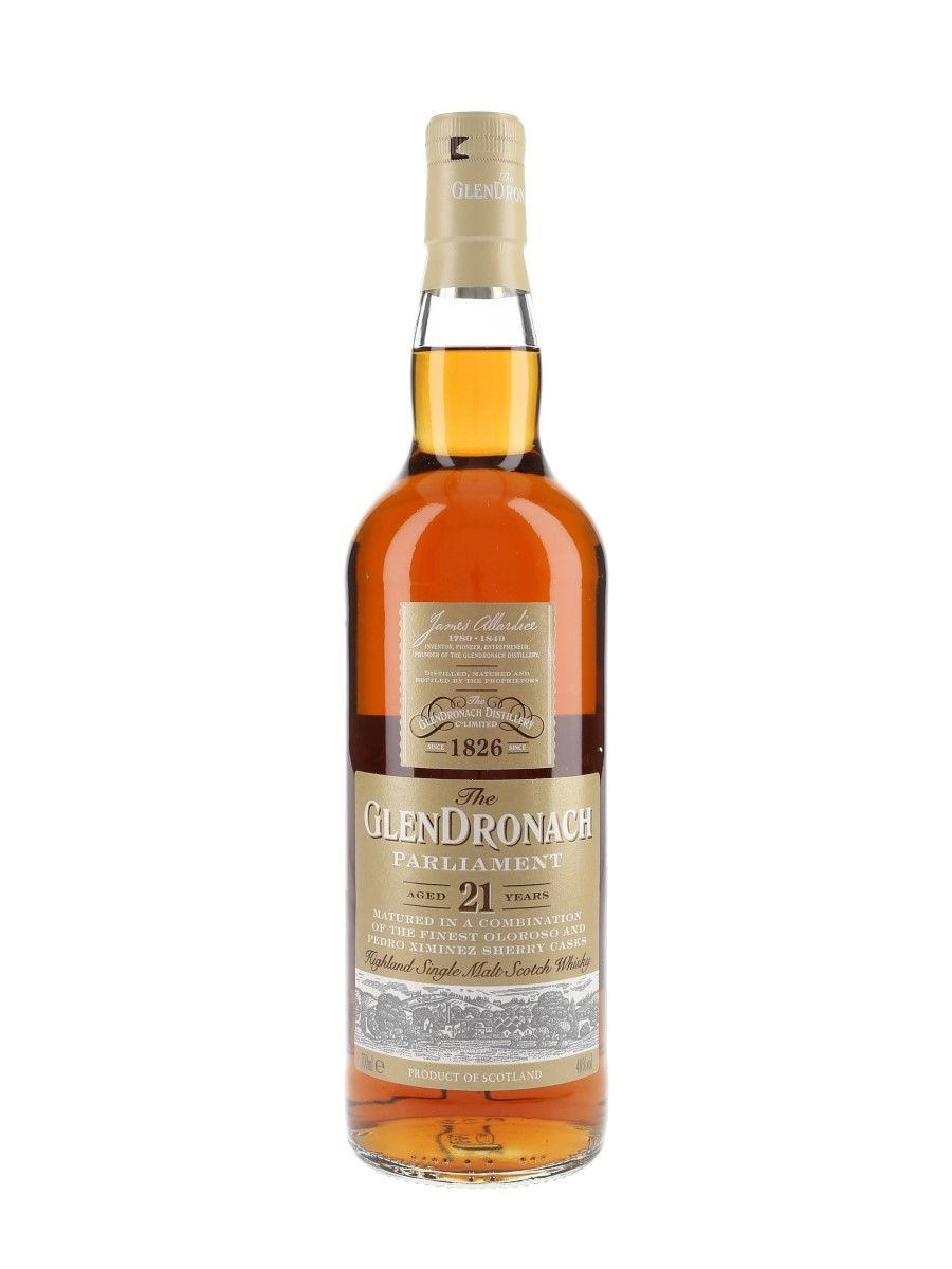 Glendronach 21 Year Old Parliament Bottled 2018 70cl / 48%