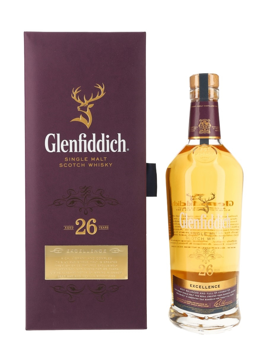 Glenfiddich 26 Year Old Excellence  70cl / 43%