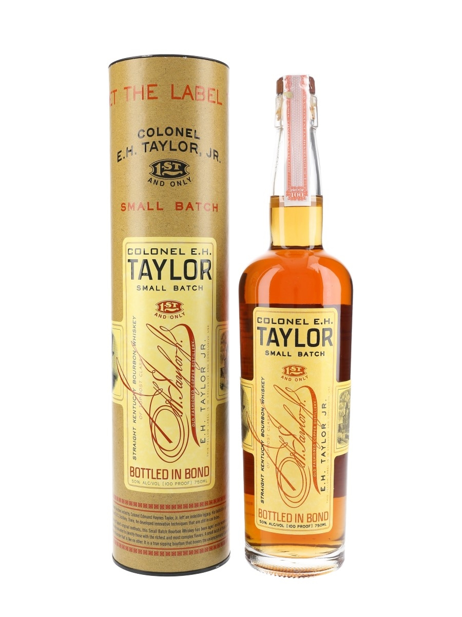Colonel E H Taylor Small Batch Bottled 2018 - Buffalo Trace 75cl / 50%