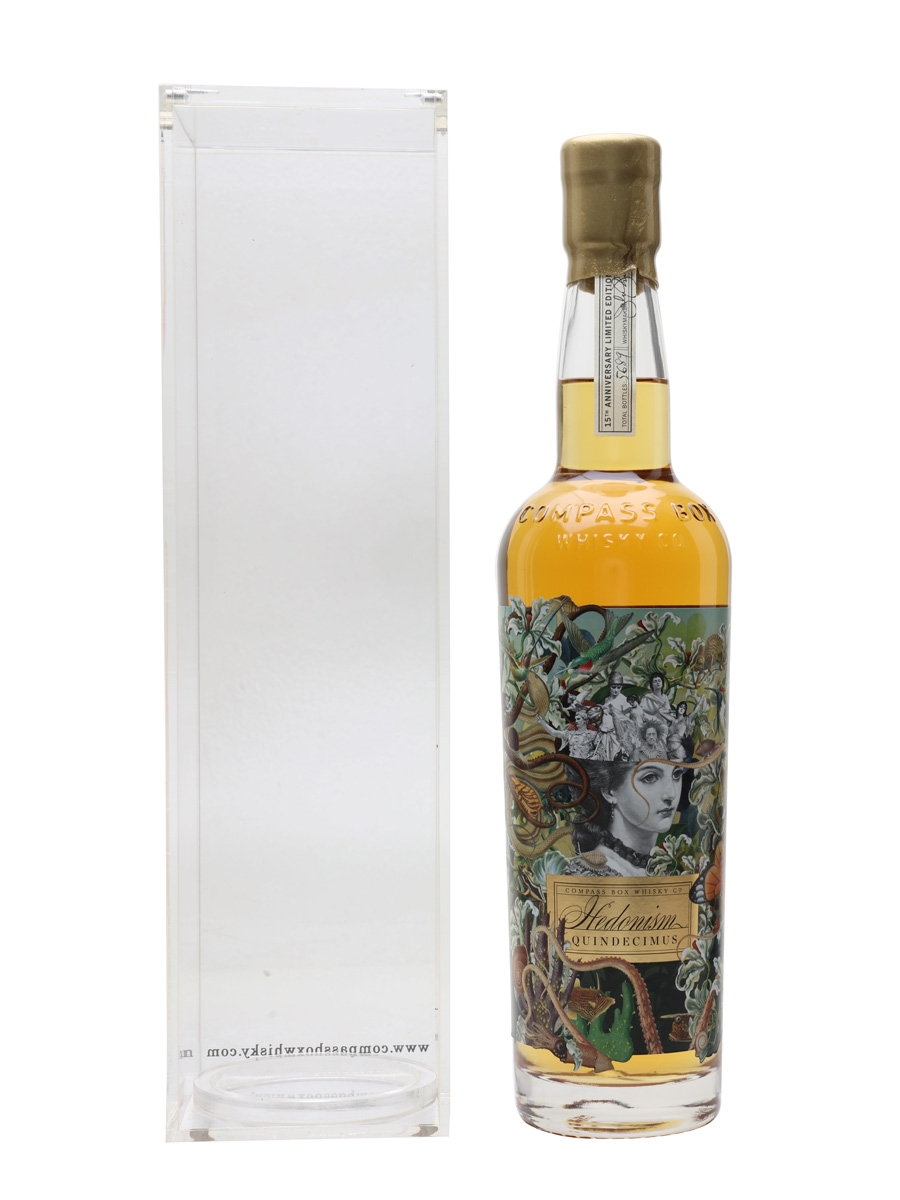 Compass Box Hedonism Quindecimus Bottled 2015 - 15th Anniversary 70cl / 46%