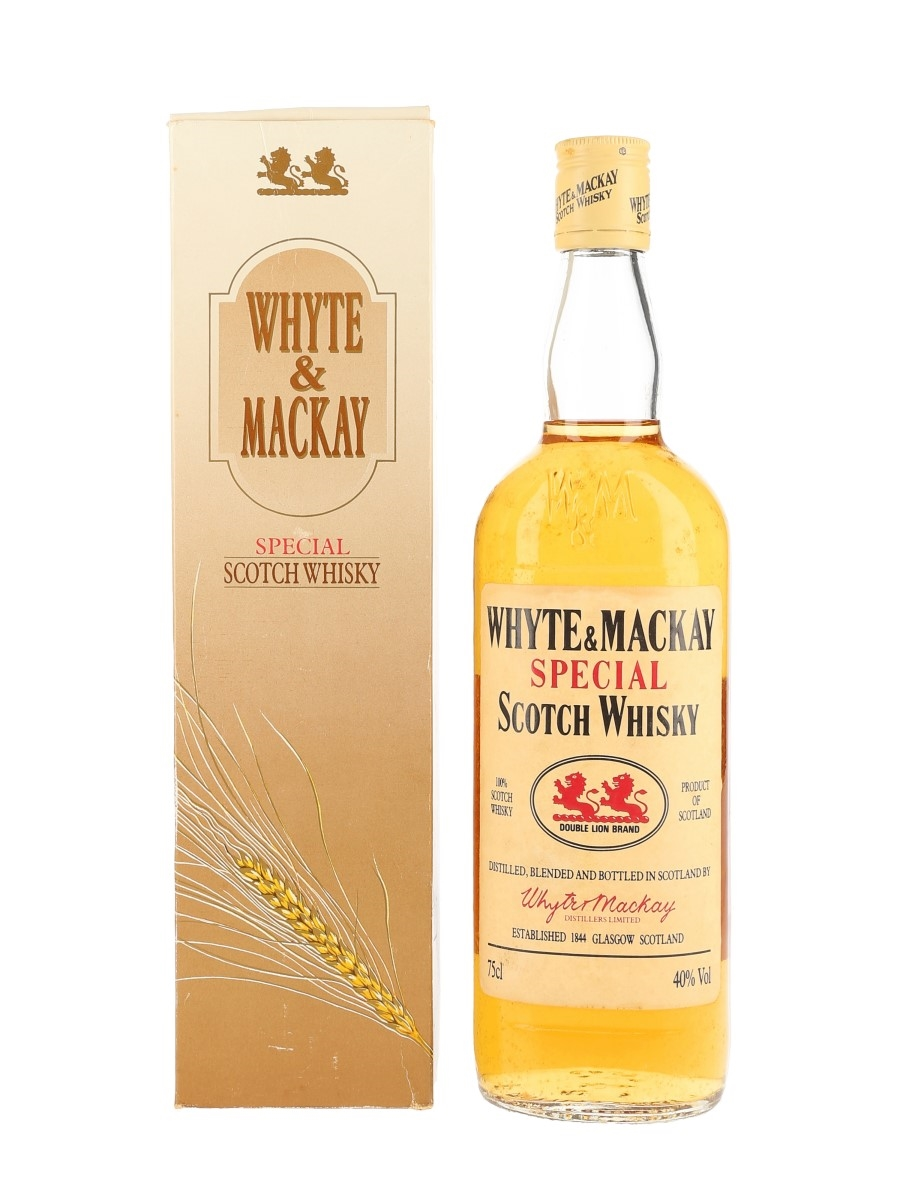 Whyte & Mackay Special Bottled 1980s 75cl / 40%