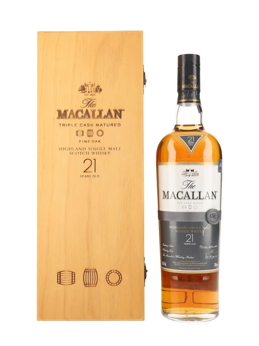 Macallan 21 Year Old Fine Oak Triple Cask Matured 70cl / 43%