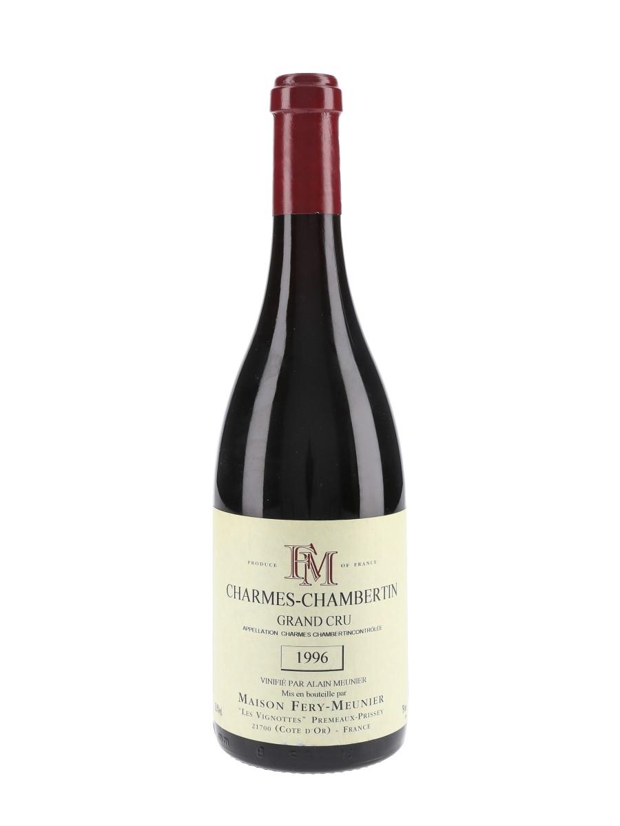 Charmes Chambertin Grand Cru 1996 Maison Fery Meunier 75cl / 13.5%