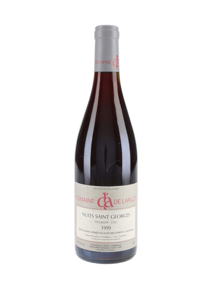 Nuits St Georges - Domaine De L'Arlot 1999 Premier Cru Clos Des Forets 75cl / 13%