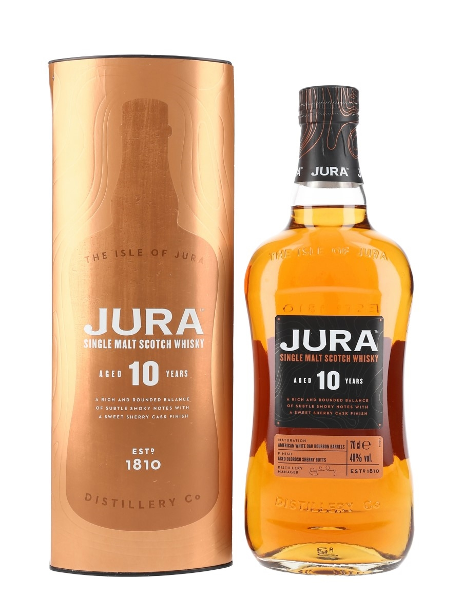 Jura 10 Year Old  70cl / 40%