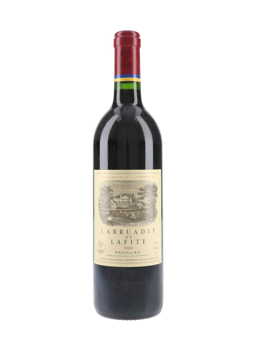 Carruades De Lafite Rothschild 1990 Pauillac 75cl / 12.5%
