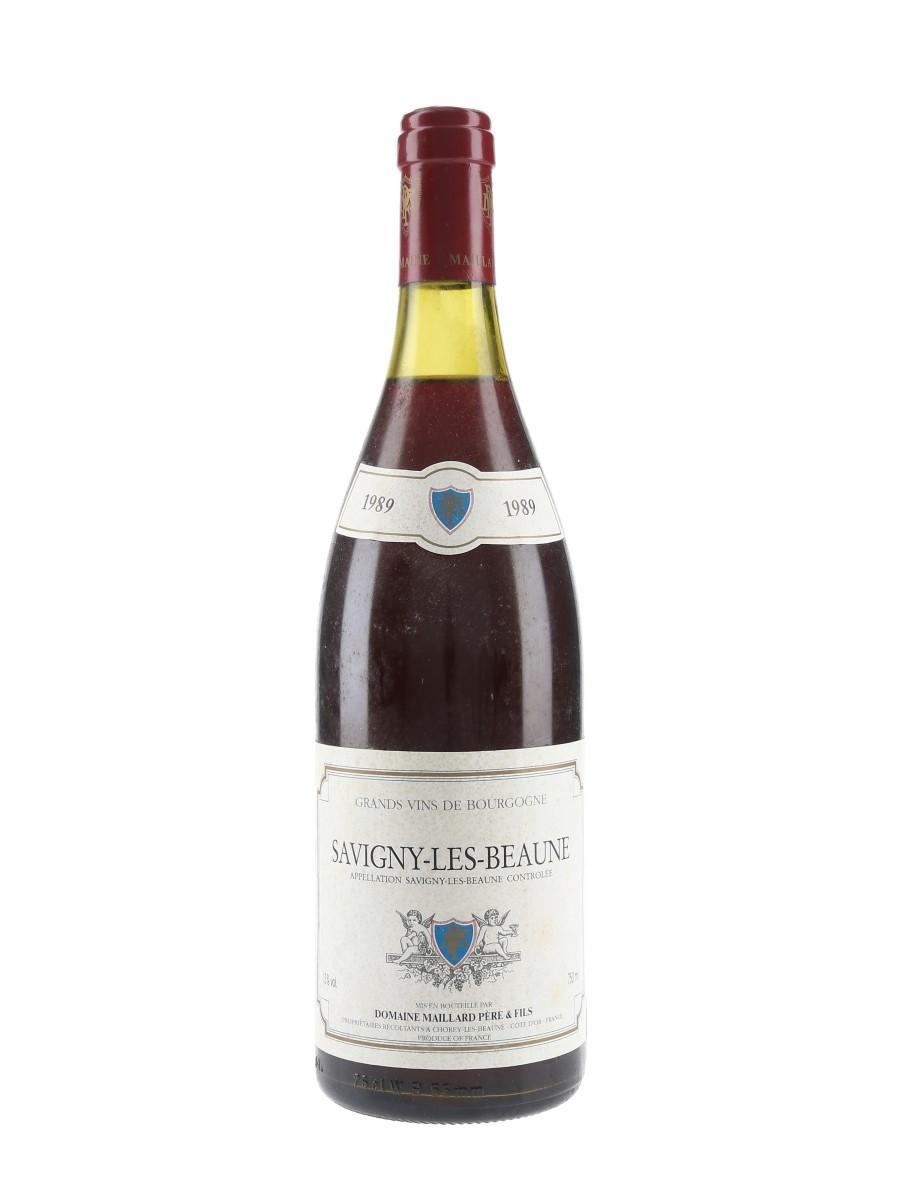 Savigny Les Beaune 1989 Domaine Maillard 75cl / 13%