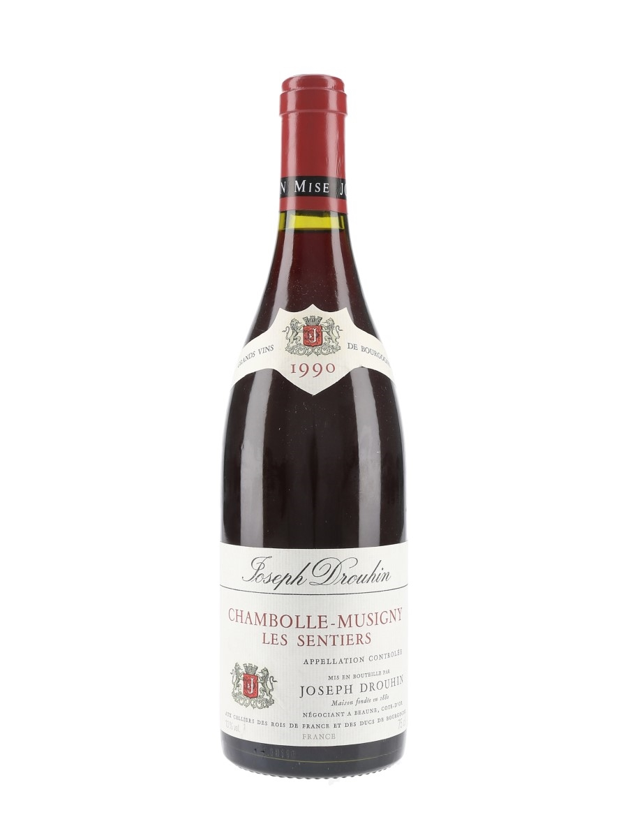 Chambolle Musigny Les Sentiers 1990 Joseph Drouhin 75cl / 13%