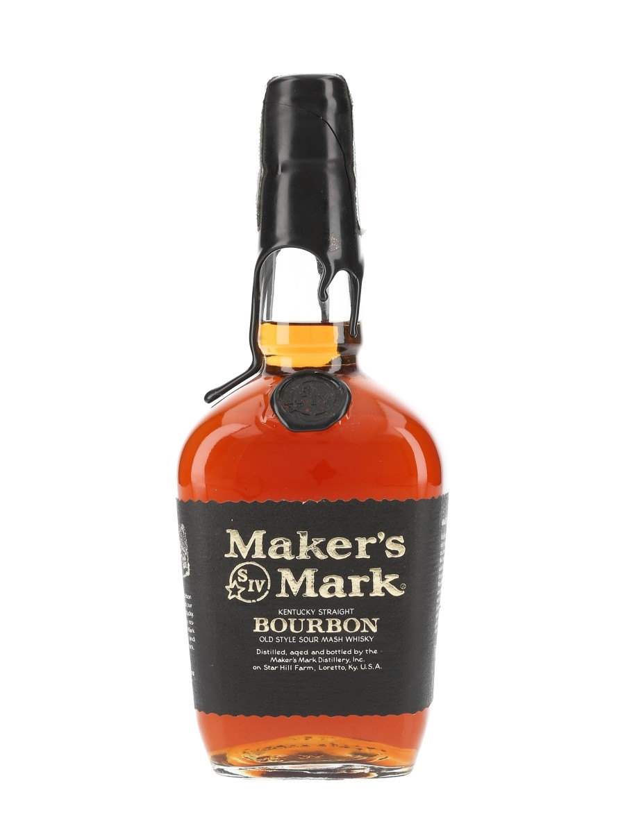 Maker's Mark Black Label Bottled 1990s 75cl / 47.5%