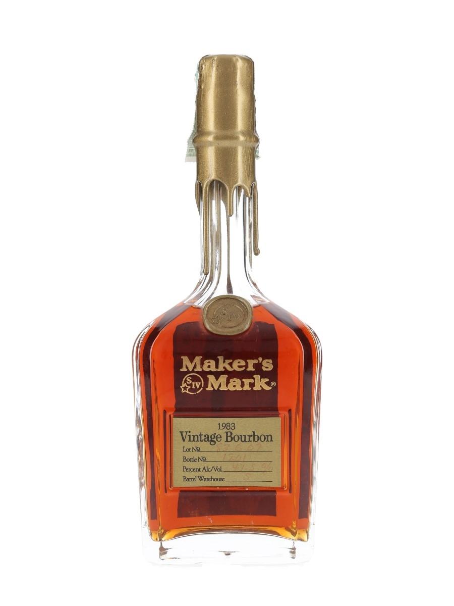Maker's Mark 1983 Vintage Bourbon  75cl / 47.5%