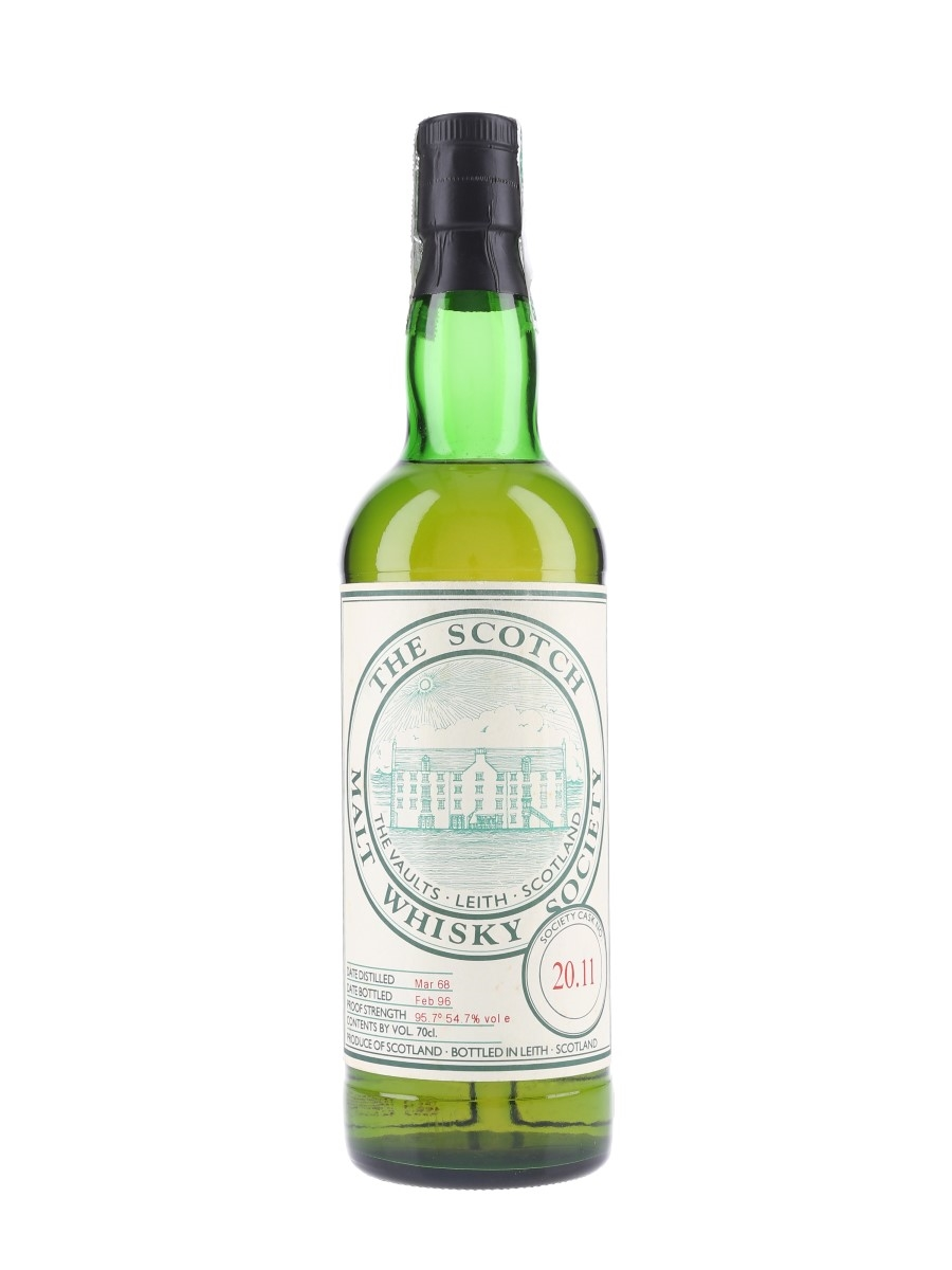 SMWS 20.11 Inverleven 1968 70cl / 54.7%