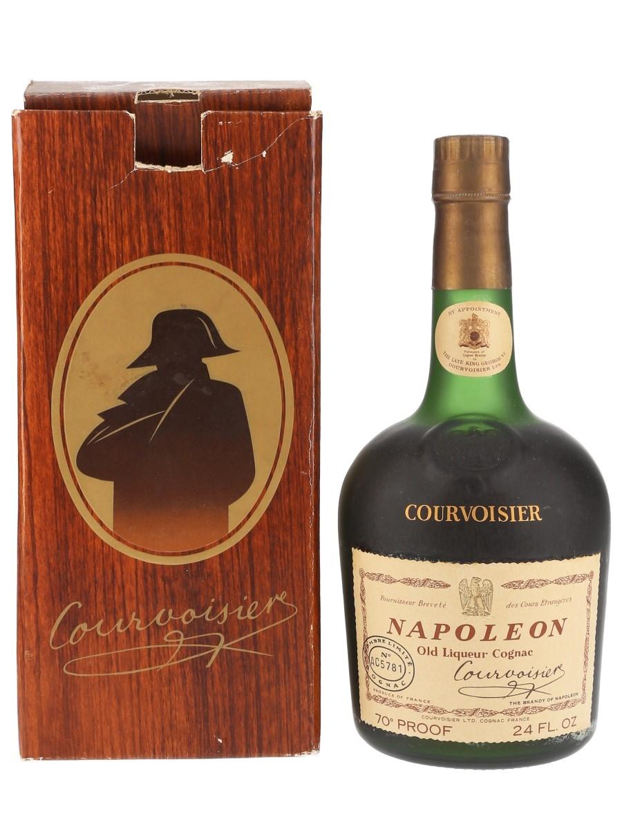 Courvoisier Napoleon Bottled 1960s-1970s - Numbered Bottle 68cl / 40%