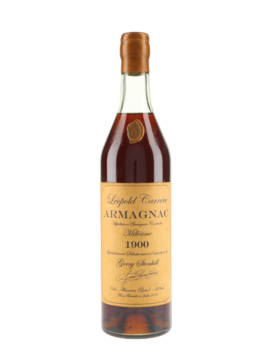 Leopold Carrere Millesime 1900 Armagnac Bottled 2005 70cl / 40%