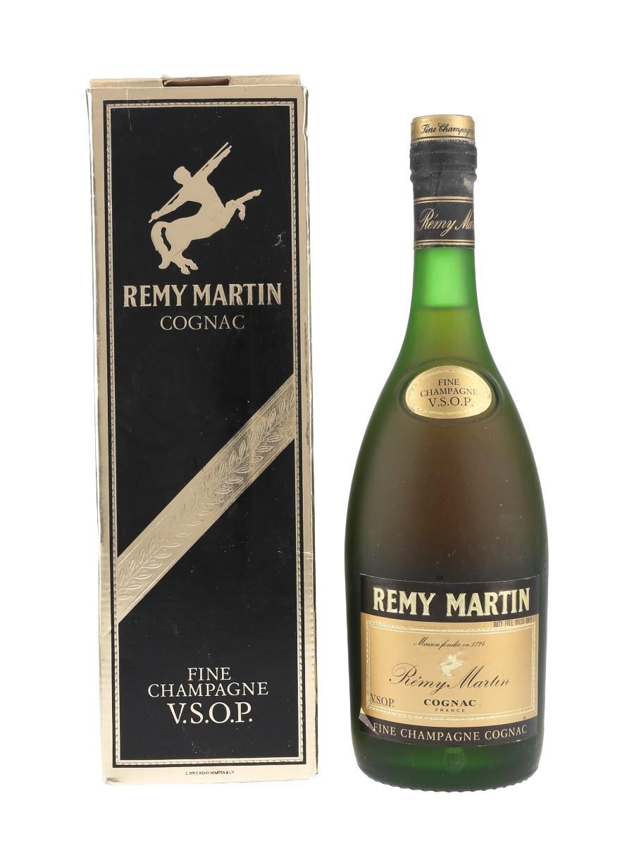 Remy Martin VSOP Bottled 1980s - Duty Free 70cl