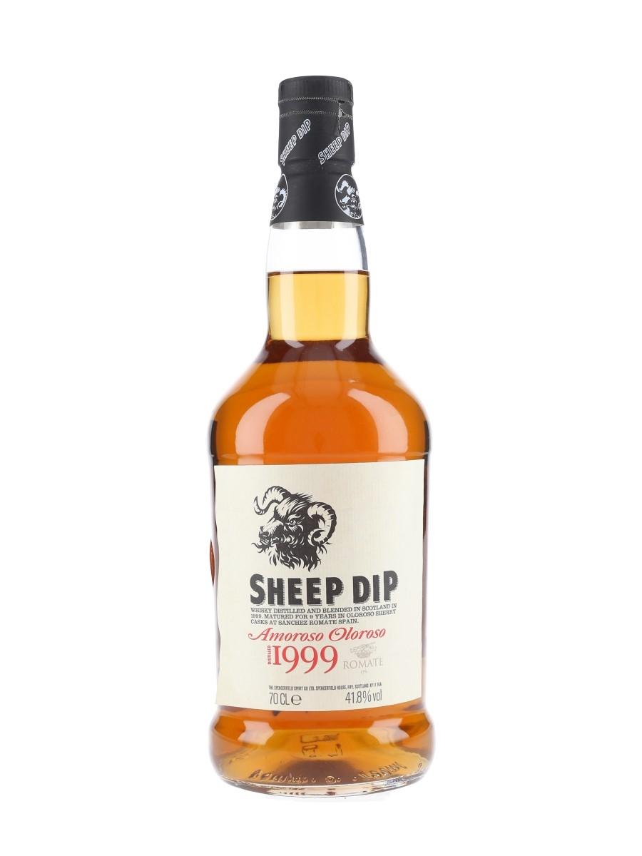 Sheep Dip 1999 Amoroso Oloroso Cask Bottled 2012 70cl / 41.8%