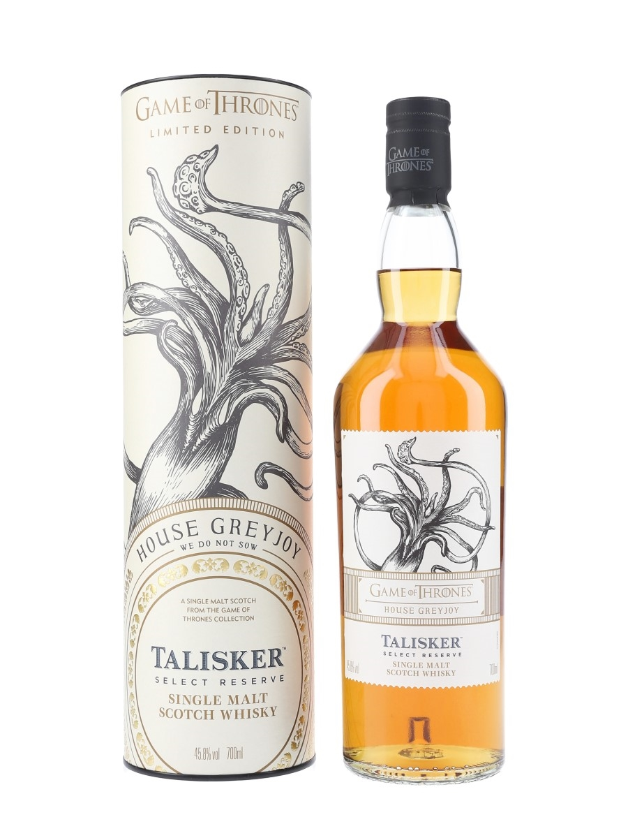 Talisker Select Reserve Game Of Thrones - House Greyjoy 70cl / 45.8%