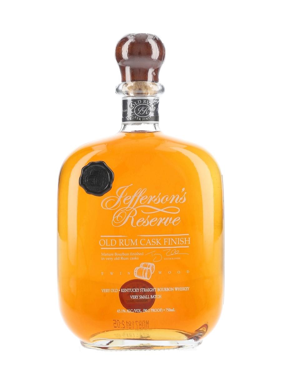 Jefferson's Reserve Old Rum Cask Finish Batch Number 4 75cl / 45.1%