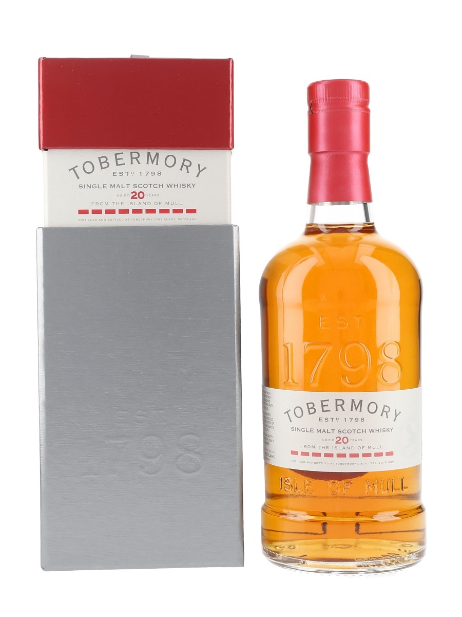 Tobermory 20 Year Old  70cl / 46.3%