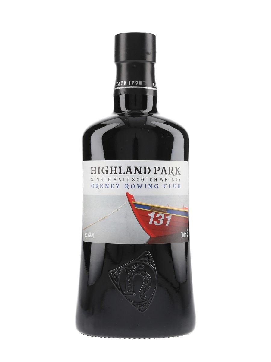 Highland Park Orkney Rowing Club  70cl / 58%