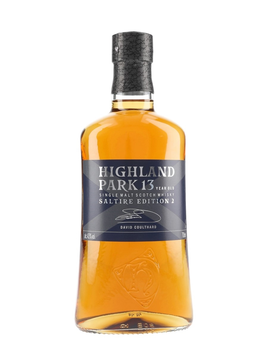 Highland Park 13 Year Old Saltire Edition 2 David Coulthard 70cl / 43%