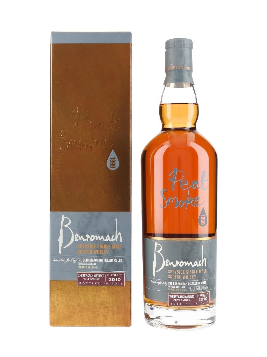 Benromach 2010 Sherry Cask Matured Bottled 2018 70cl / 59.9%