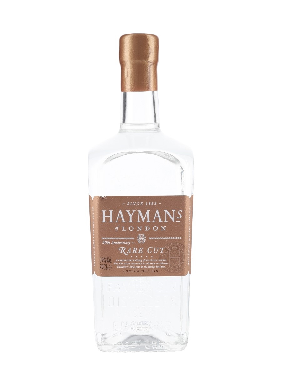 Haymans Of London Rare Cut 50th Anniversary - Signed Bottle 70cl / 50%