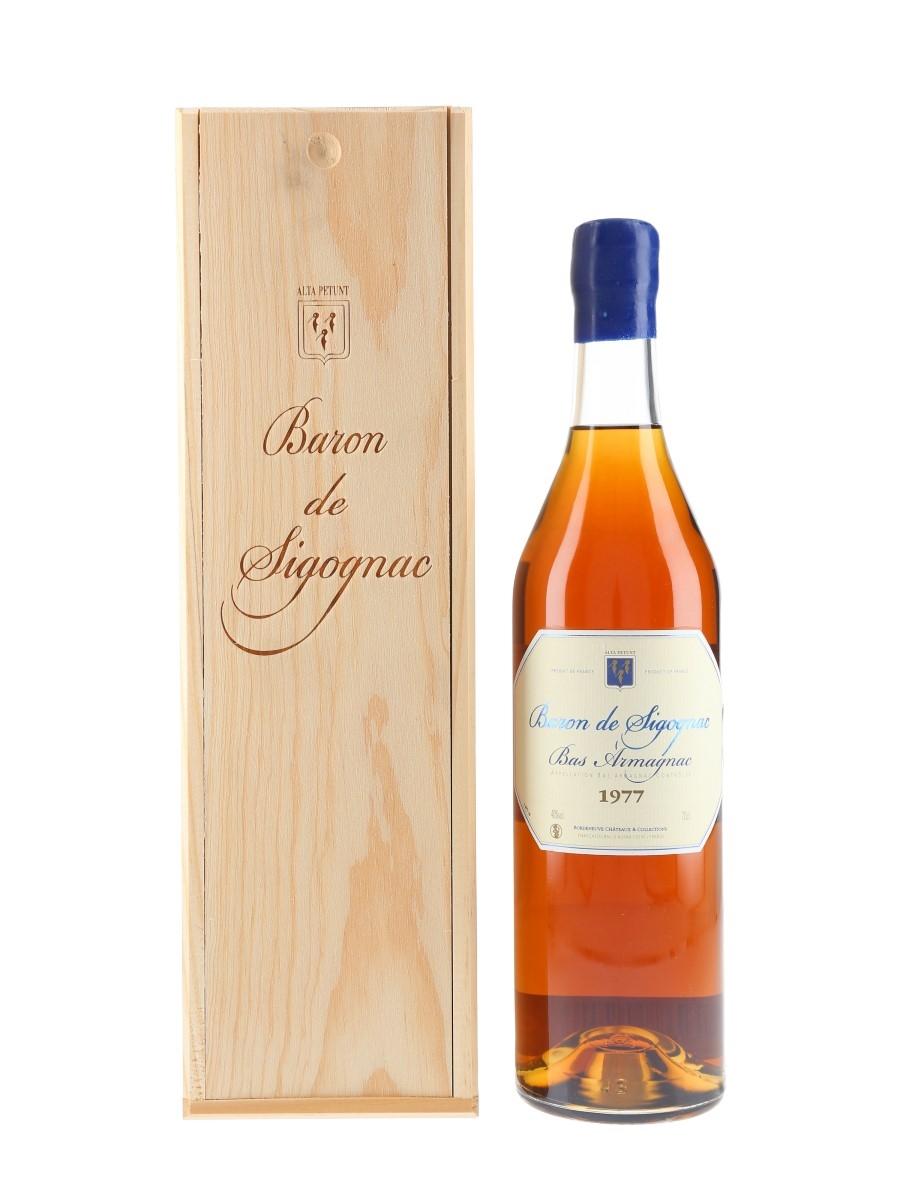 Baron De Sigognac 1977 Bas Armagnac Bottled 2017 70cl / 40%
