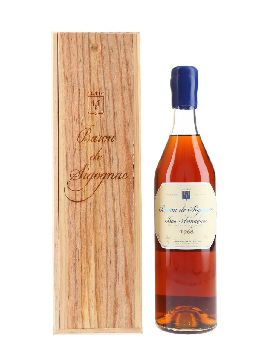Baron De Sigognac 1968 Bas Armagnac Bottled 2018 70cl / 40%