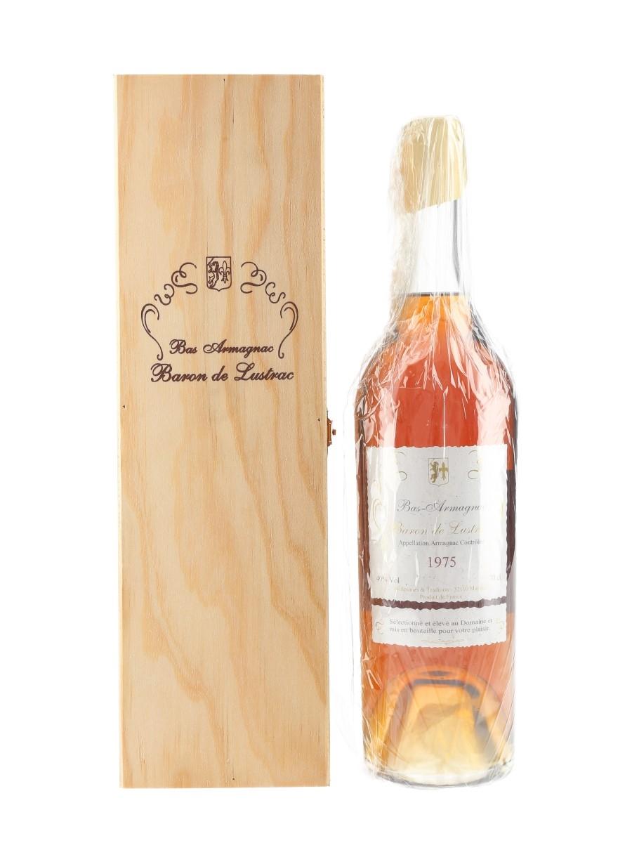 Baron De Lustrac 1975 Bas Armagnac  70cl / 40%