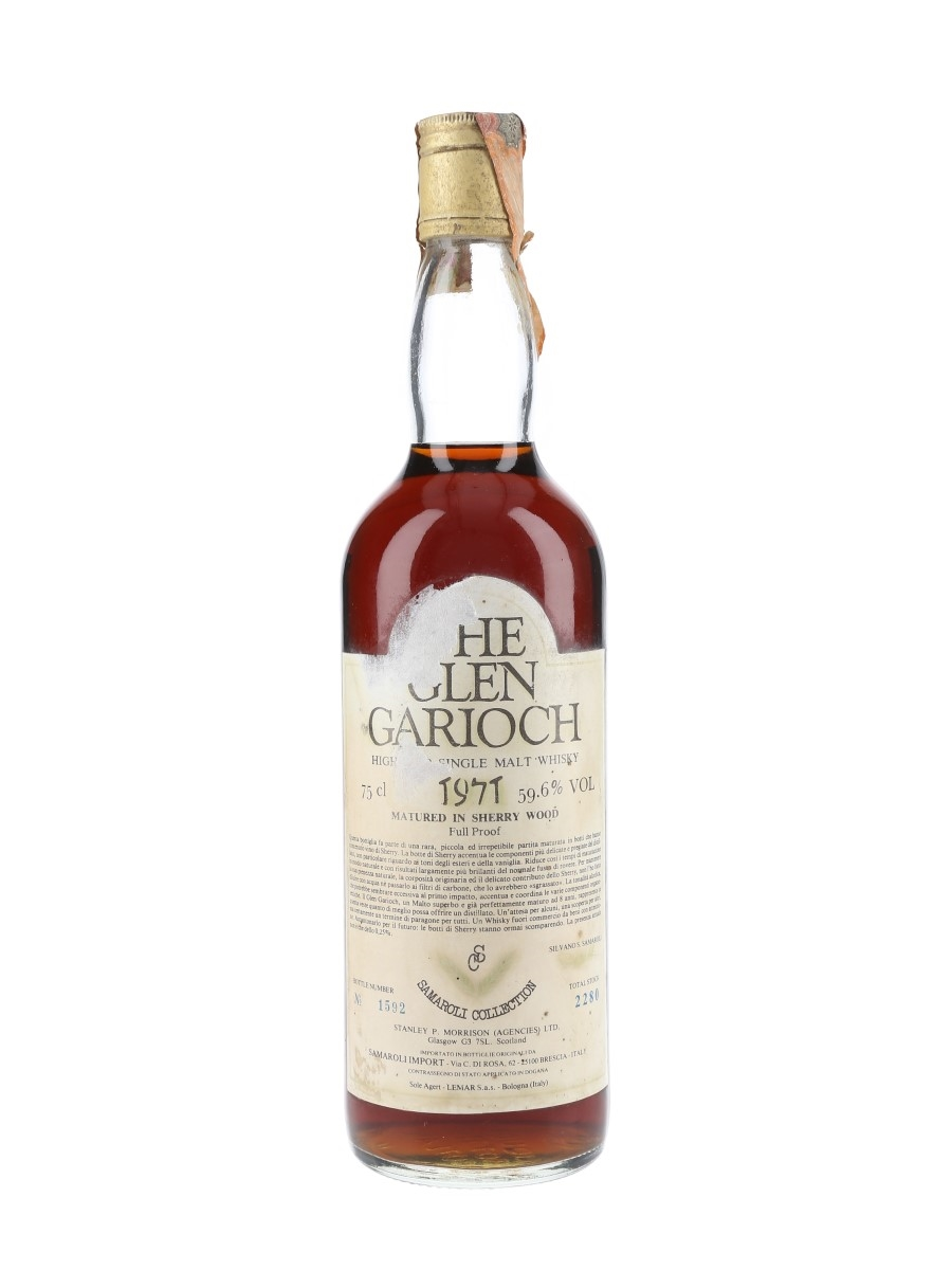 Glen Garioch 1971 Bottled 1979-1980 - Samaroli 75cl / 59.6%