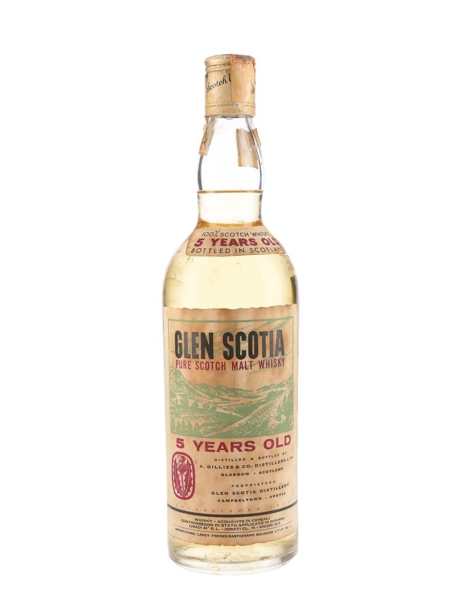 Glen Scotia 5 Year Old Bottled 1970s - Landy Freres 75cl / 40%
